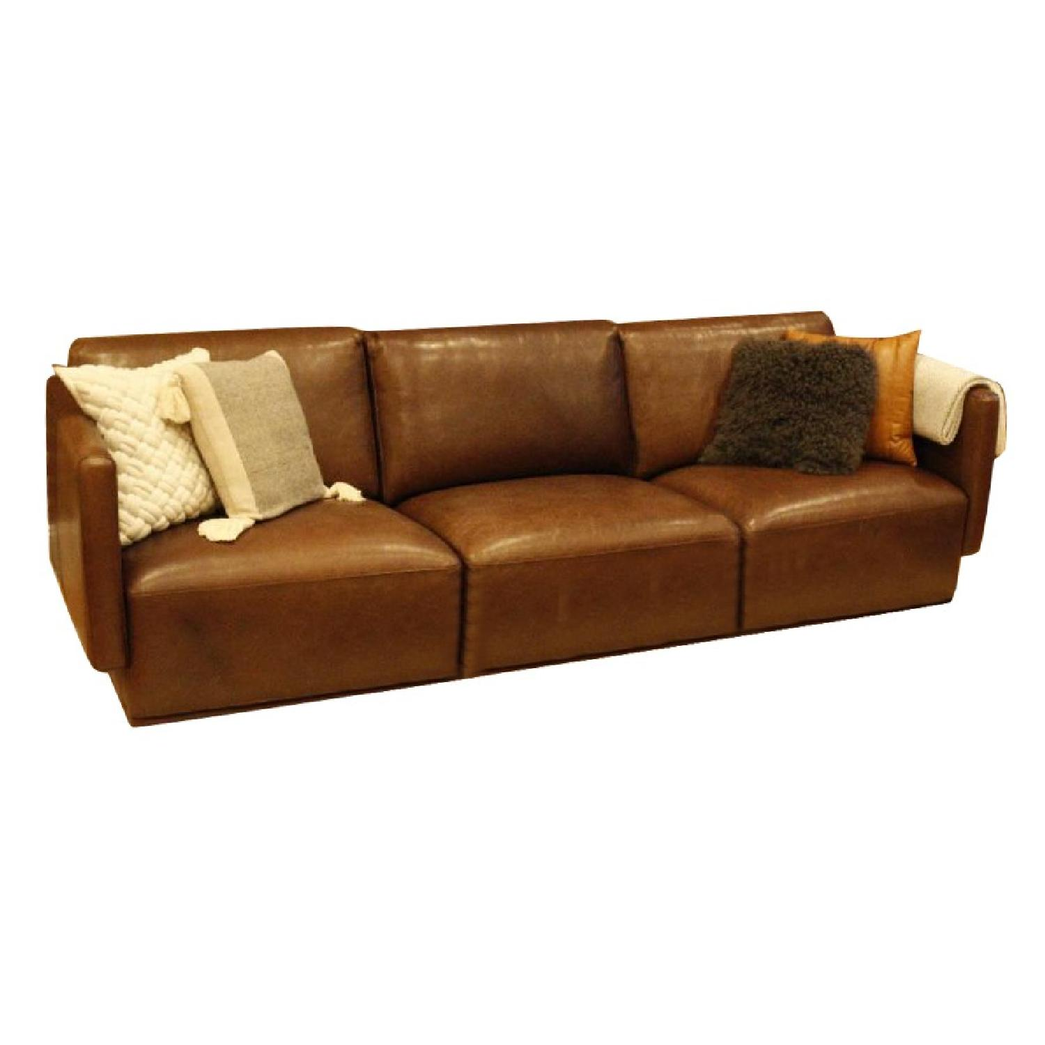 Cliff Young Marco Leather Sectional Sofa