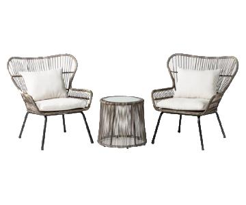 Target Latigo 3 Piece Rattan Patio Set