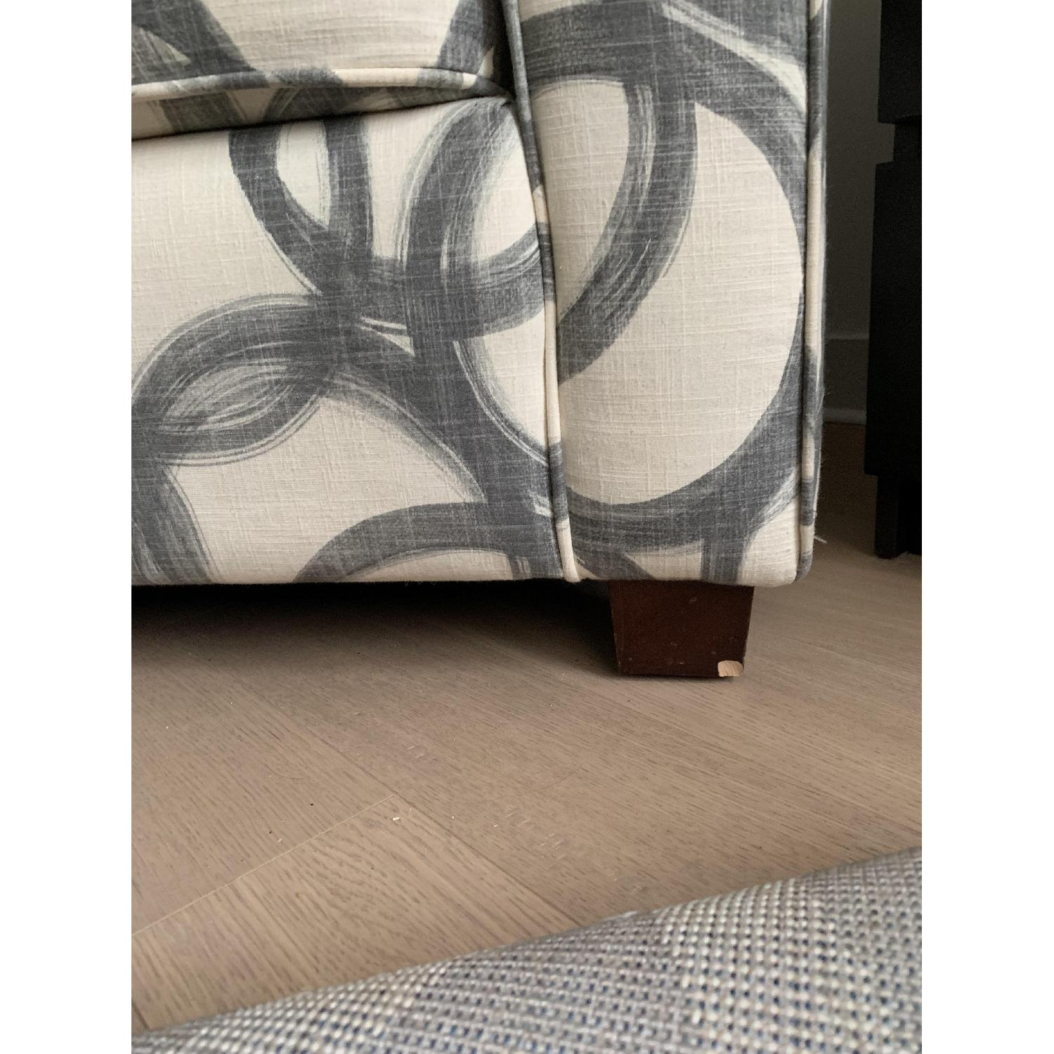 West Elm Patterned Henry Armchair-5