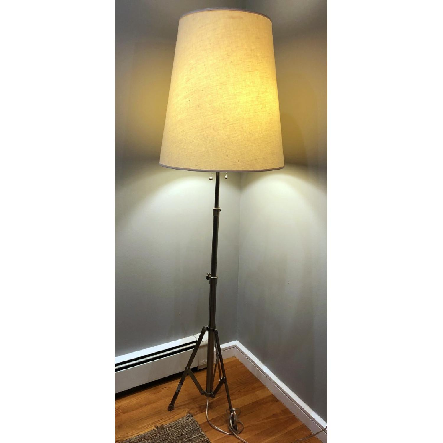 Pottery Barn Tripod Floor Lamp-0