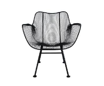 Russell Woodard Vintage Mid Century Wire Sculptural Chair