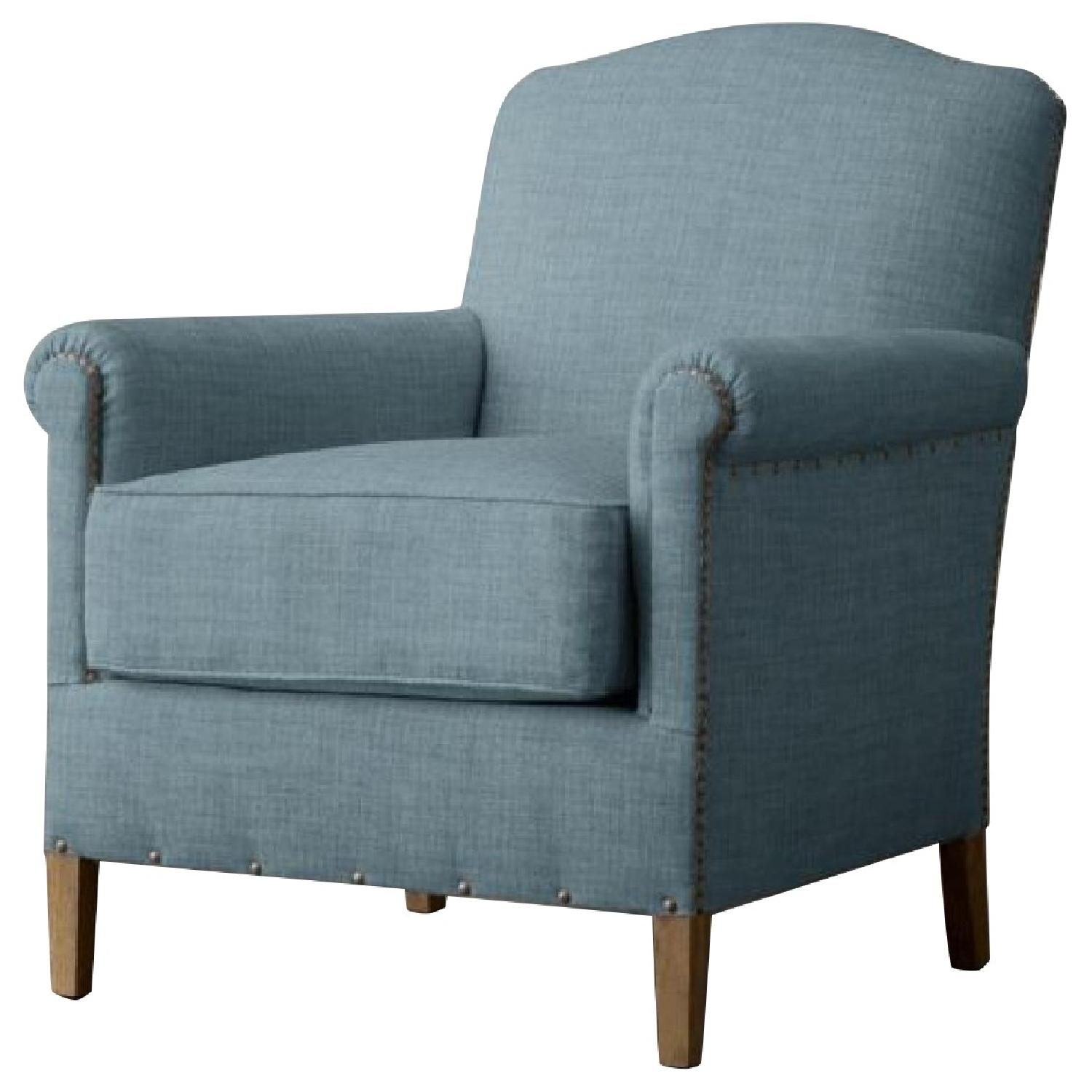 Restoration Hardware 1920's French Camelback Club Chair