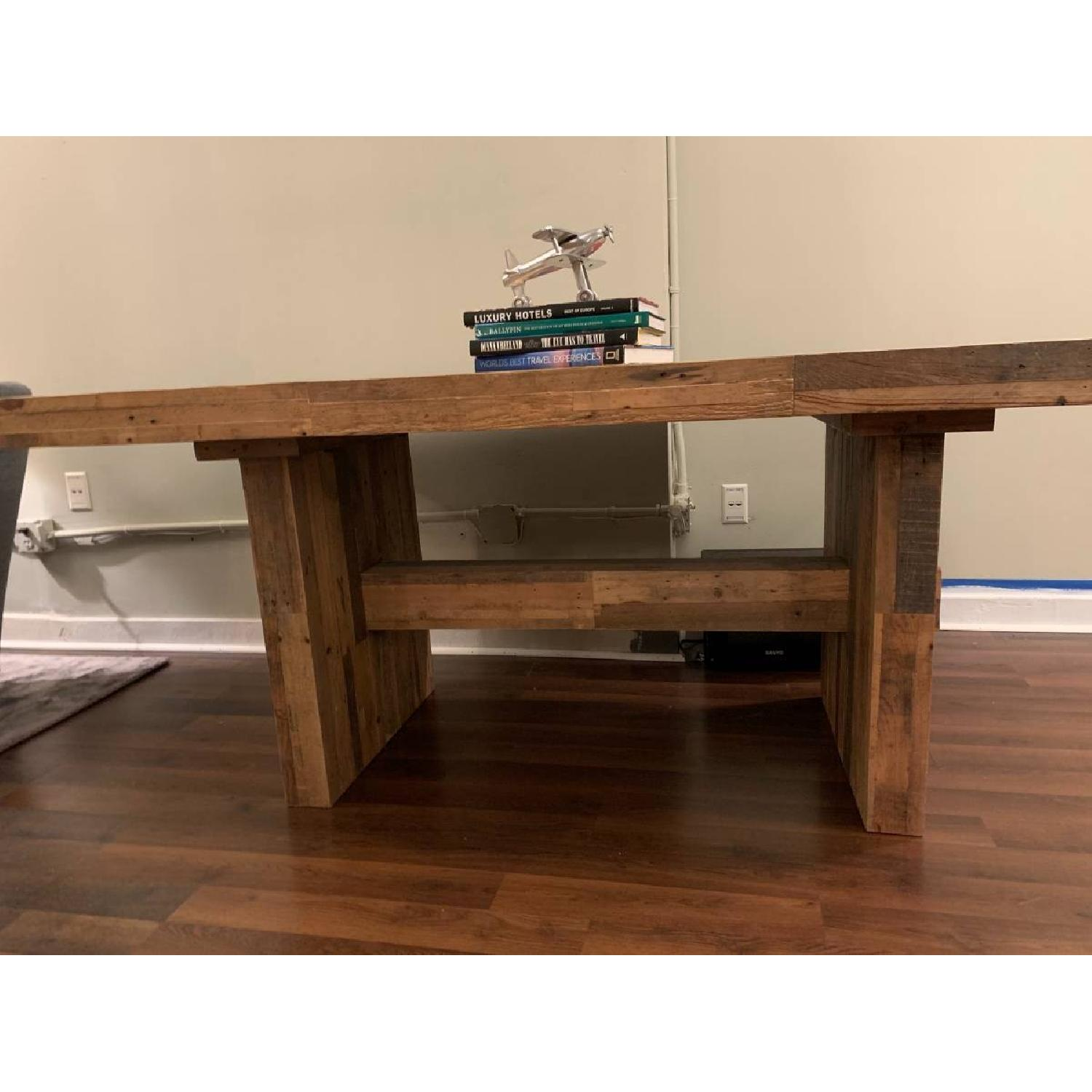 West Elm Reclaimed Pine Wood Dining Table-1