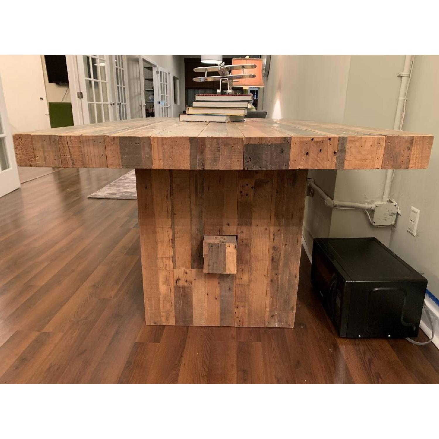 West Elm Reclaimed Pine Wood Dining Table-2