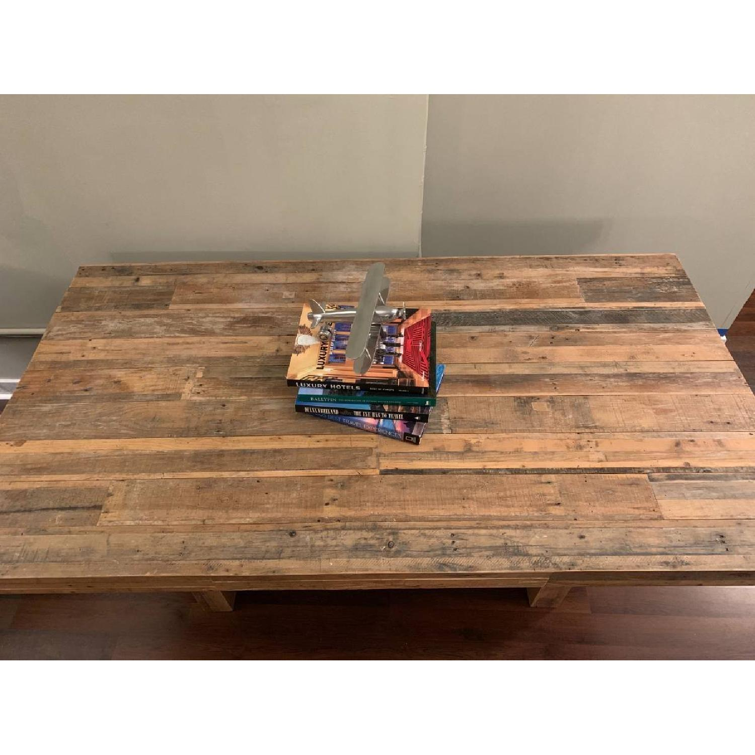 West Elm Reclaimed Pine Wood Dining Table-3