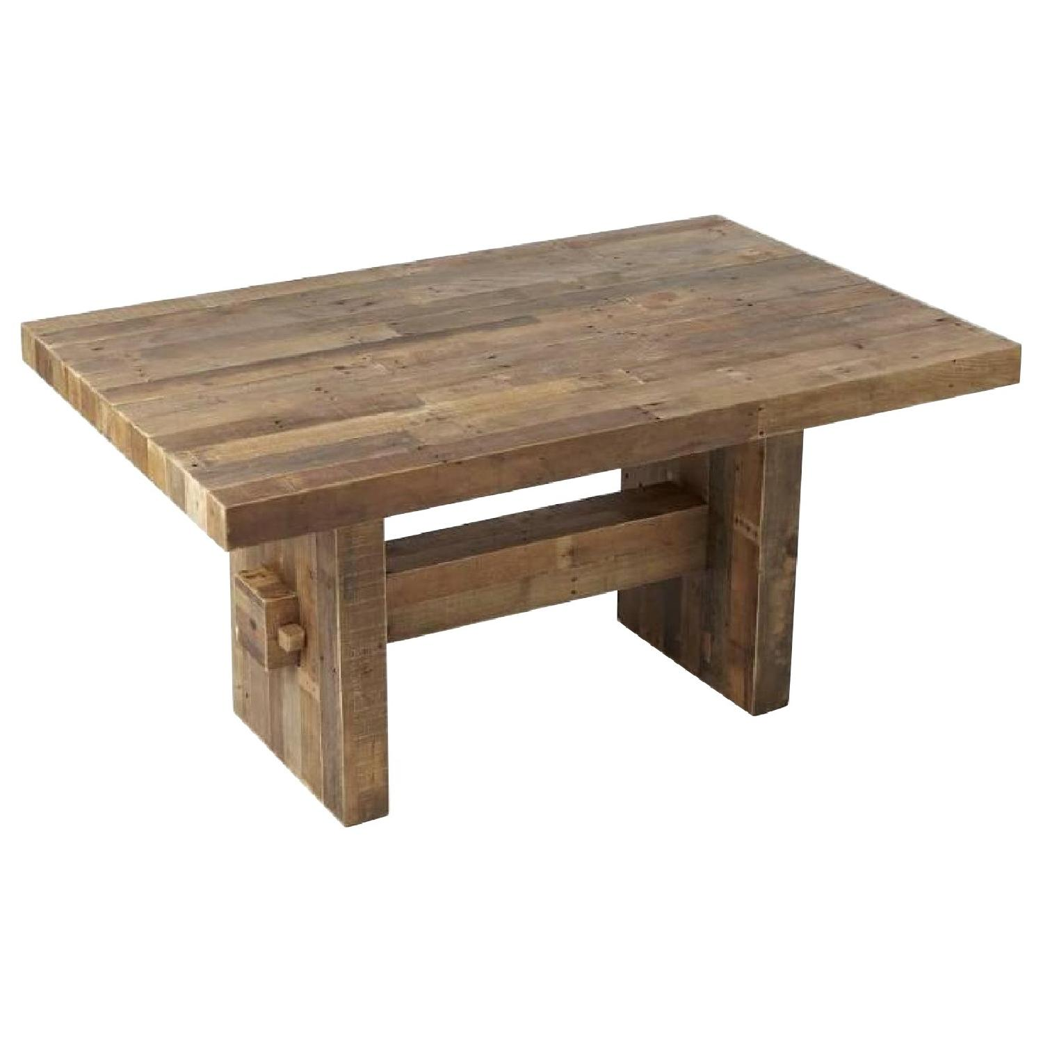 West Elm Reclaimed Pine Wood Dining Table