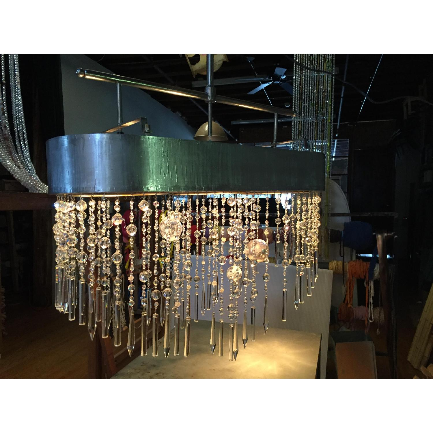 Mariann Megna Glass Custom Designed Modern Chandelier-0