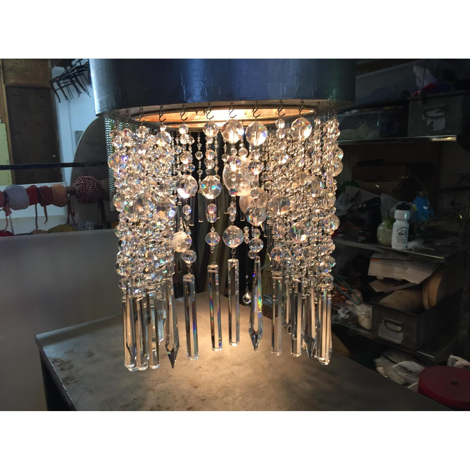 Mariann Megna Glass Custom Designed Modern Chandelier-2