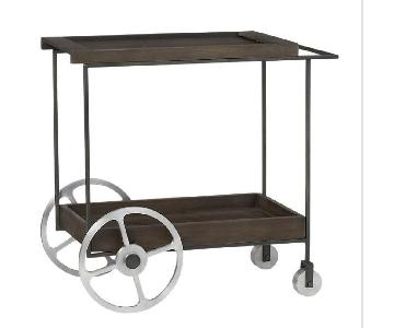 CB2 Porter Bar Cart