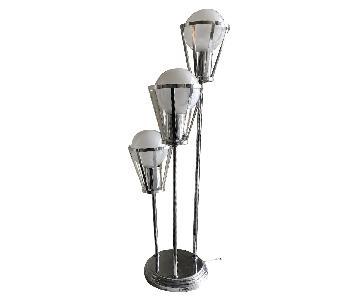 Vintage Modern Art Deco Style Lamp