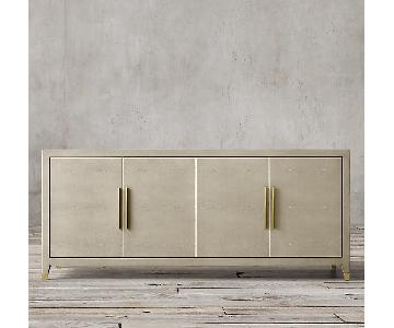 Restoration Hardware Sideboard w/ Brass Hardware