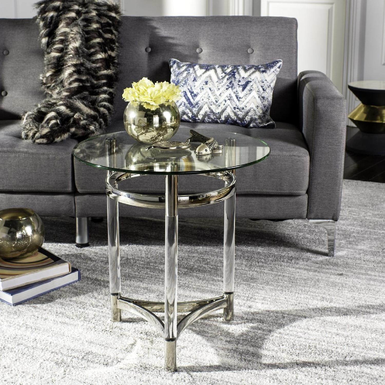 Merveilleux ... Safavieh Letty Round Acrylic End Table 0 ...