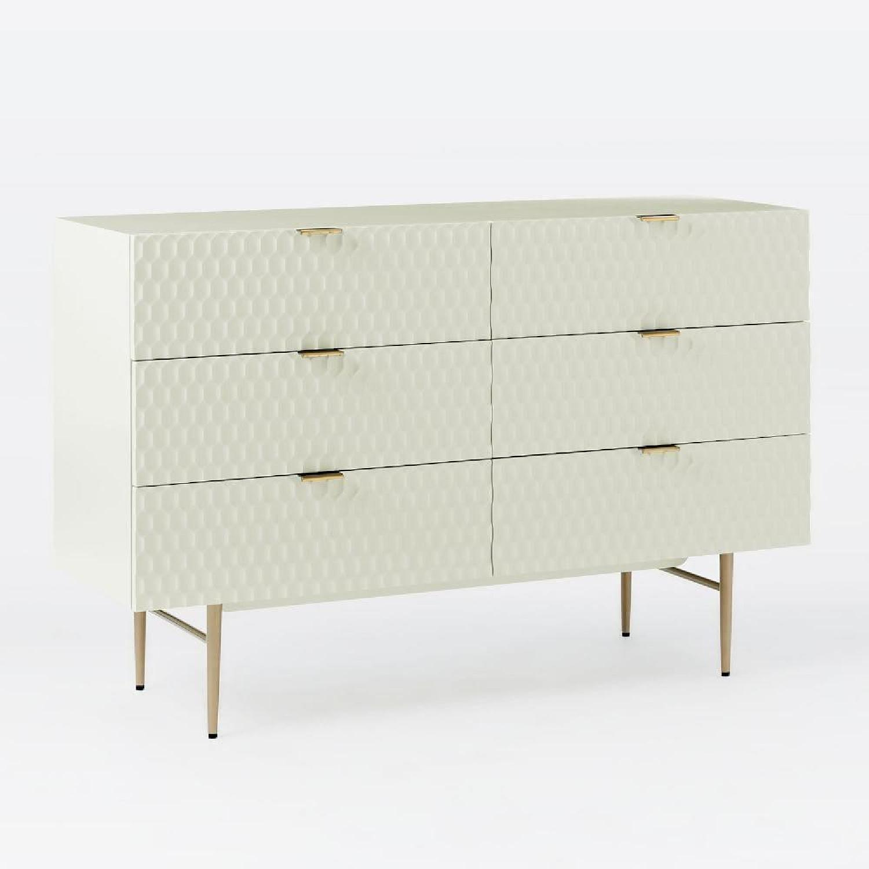 West Elm Audrey 6-Drawer Dresser in Parchment