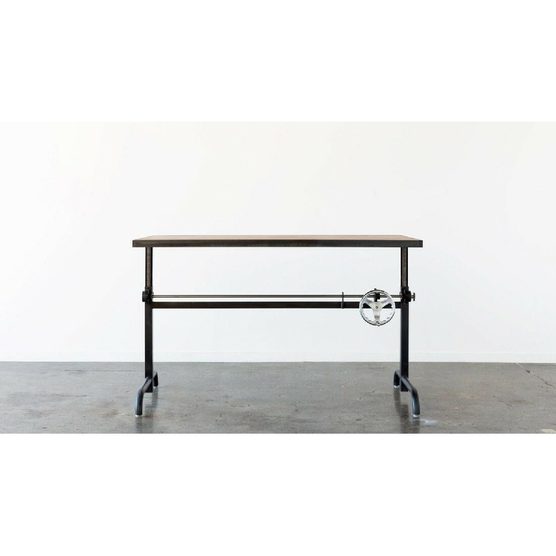 Ohio Design Industrial Style Adjustable Height Desk-0