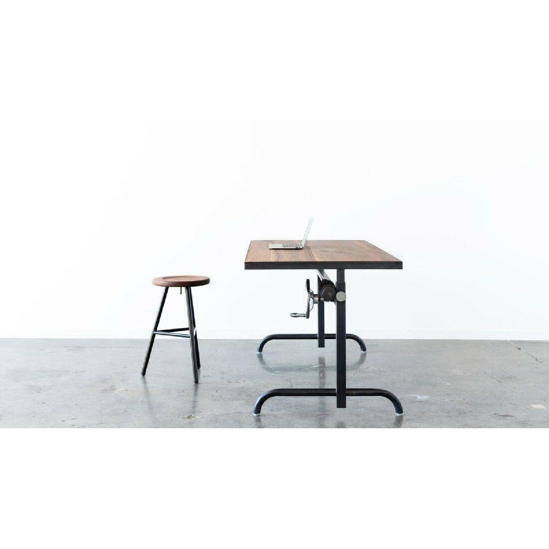 Ohio Design Industrial Style Adjustable Height Desk-1