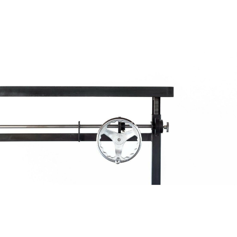 Ohio Design Industrial Style Adjustable Height Desk-2