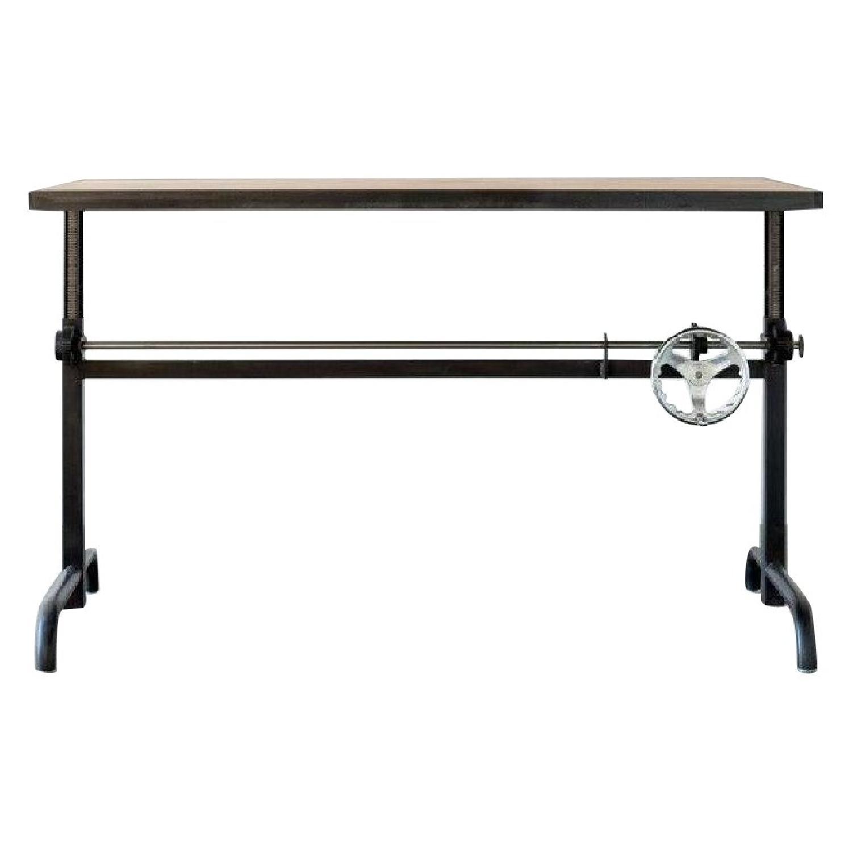 Ohio Design Industrial Style Adjustable Height Desk
