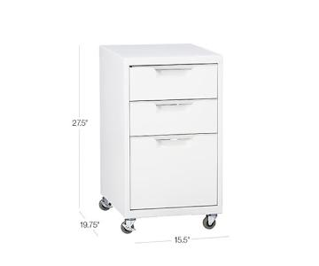 CB2 TPS 3-Drawer Filing Cabinet