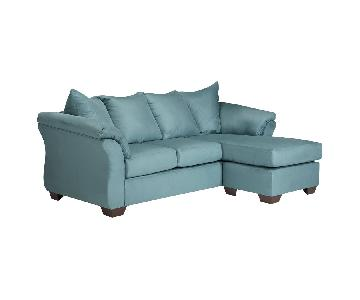Ashley Darcy Sectional Sofa w/ Chaise