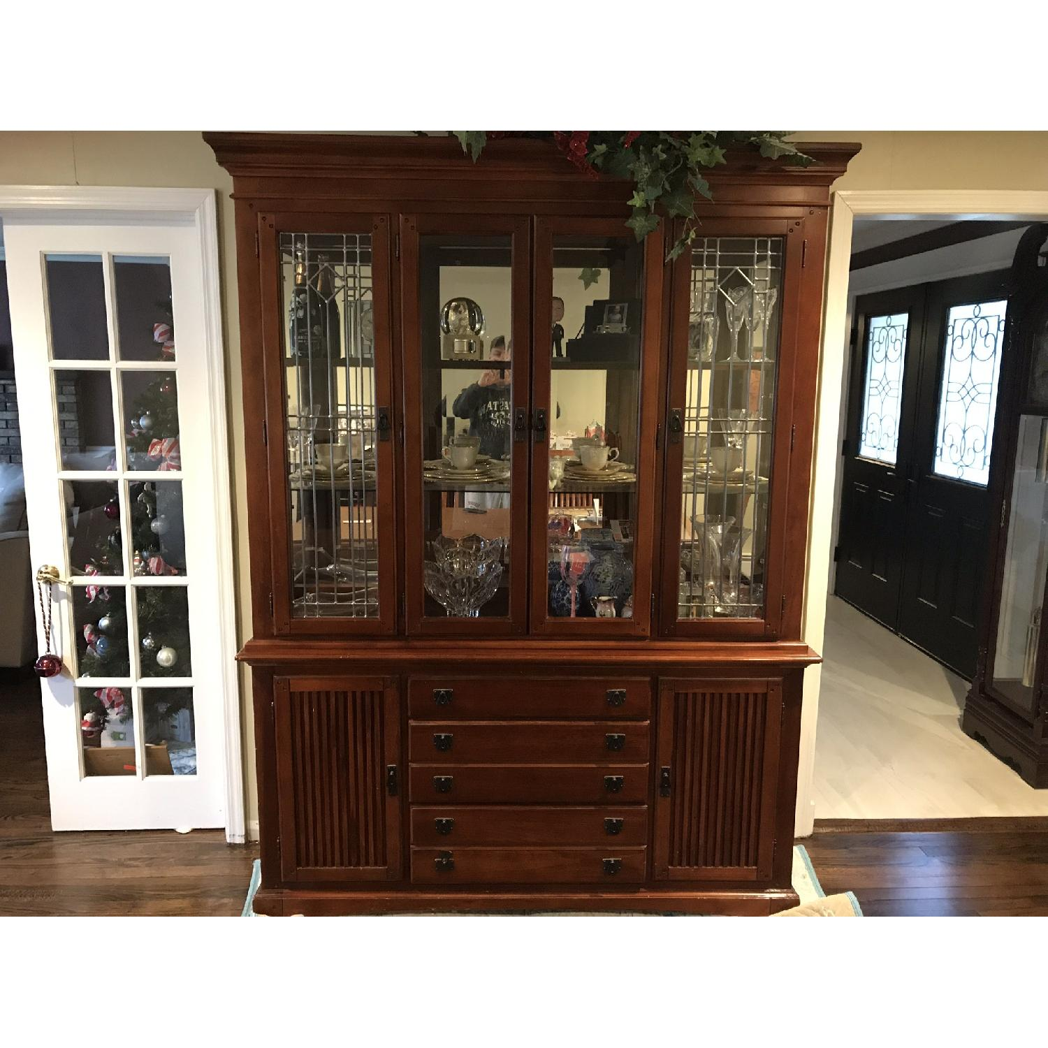 Legacy Classic Mission Collection Buffet/China Cabinet-0