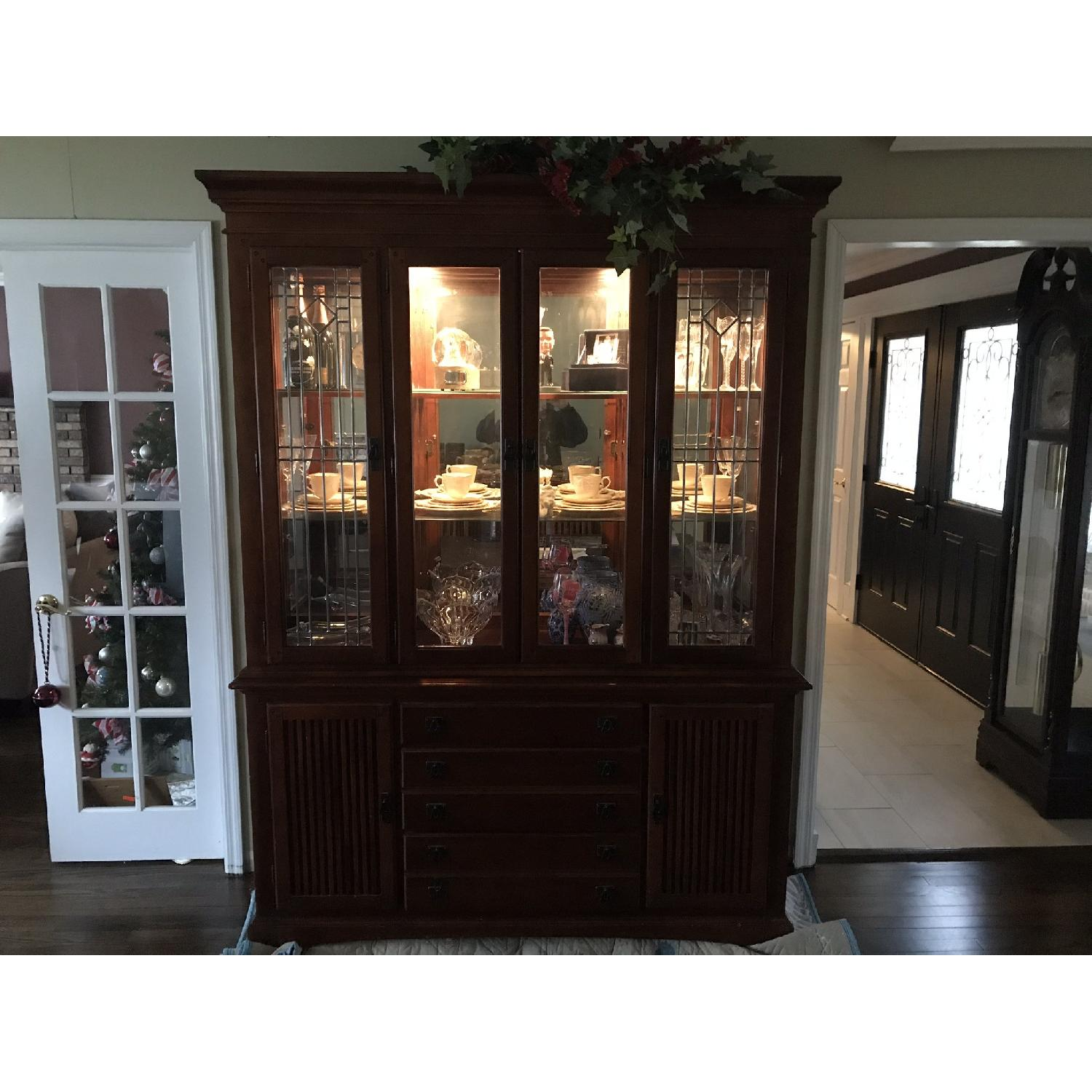 Legacy Classic Mission Collection Buffet/China Cabinet-1