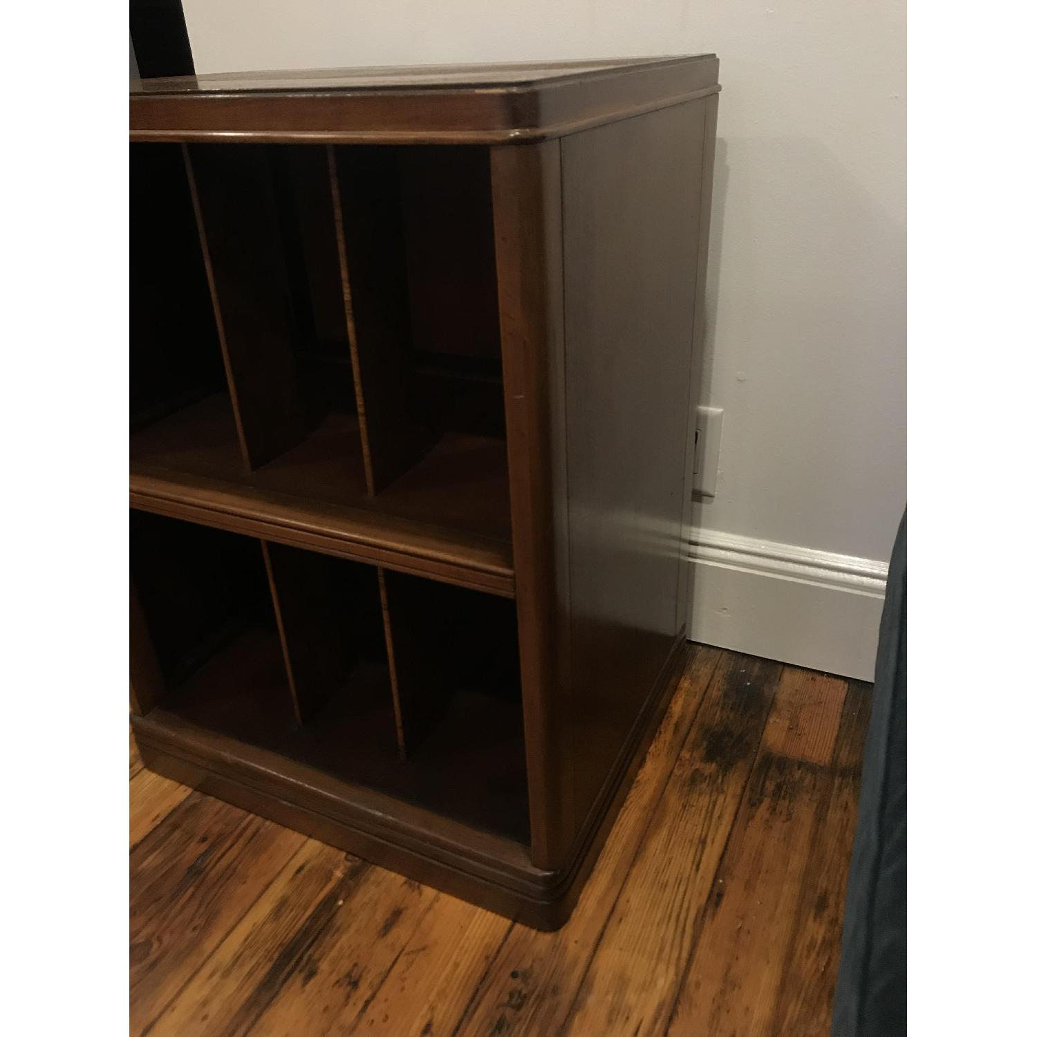 Vintage Record Storage Shelf/Cabinet-1