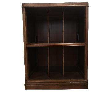 Vintage Record Storage Shelf/Cabinet