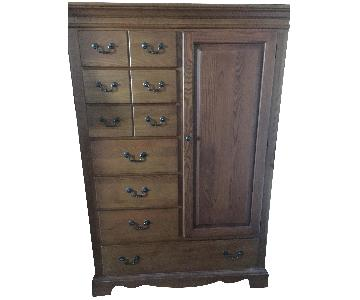 Hitchcock Oak Armoire