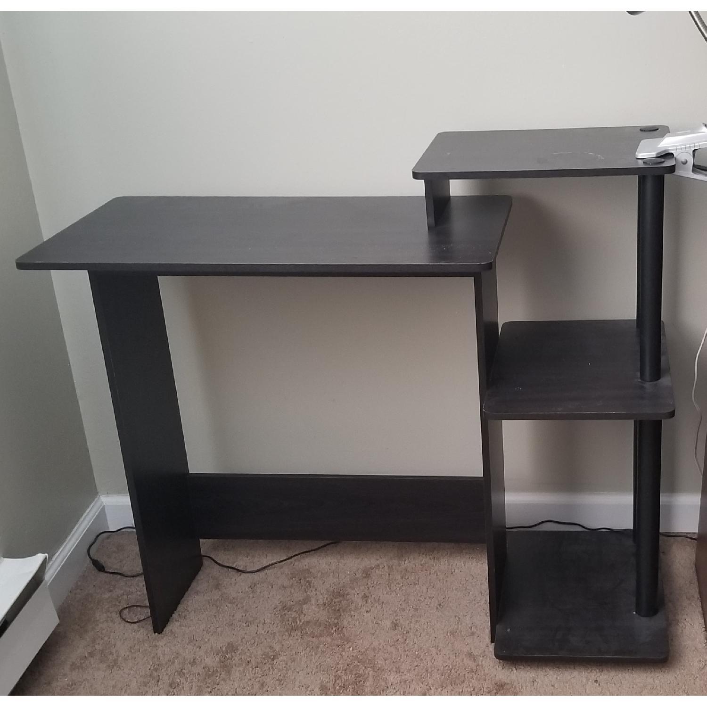 Black Wood Desk-0