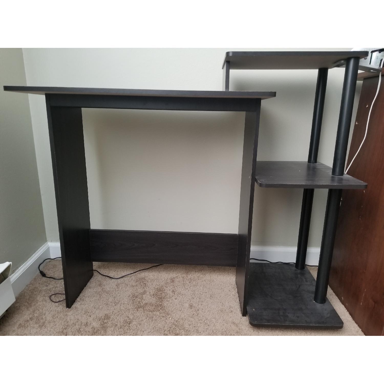 Black Wood Desk-1