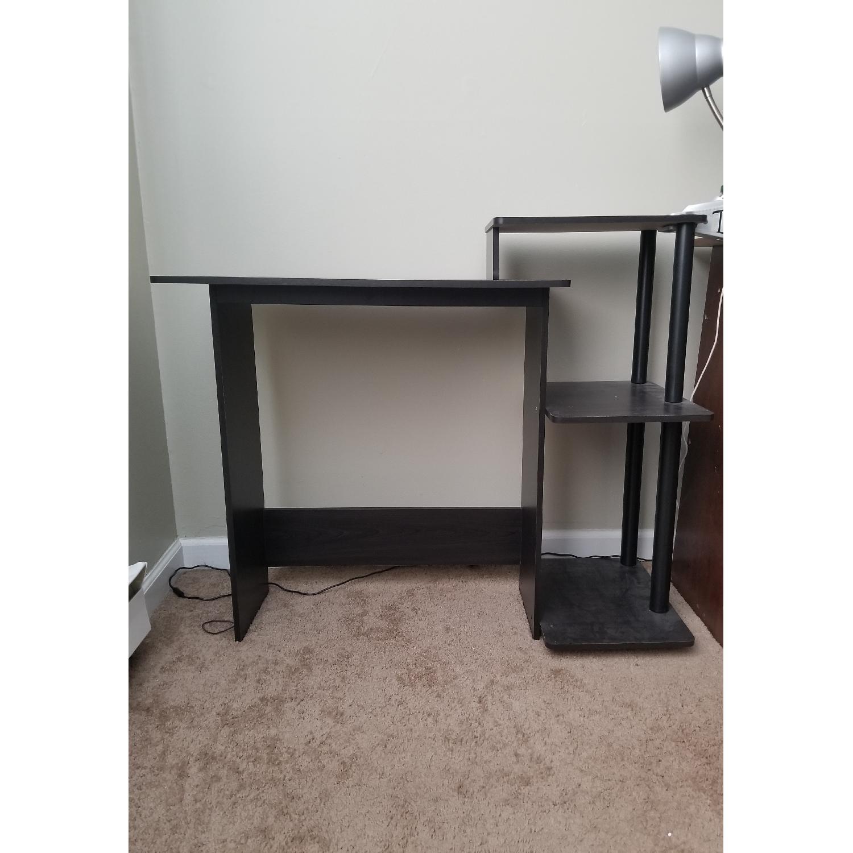 Black Wood Desk-2