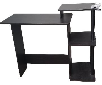 Black Wood Desk