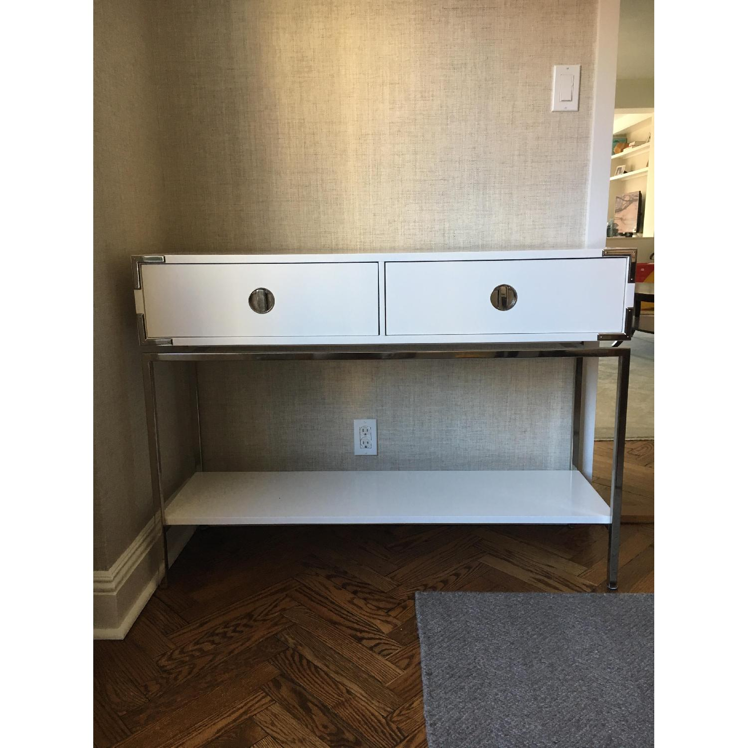 West Elm Malone Campaign Console Table-3