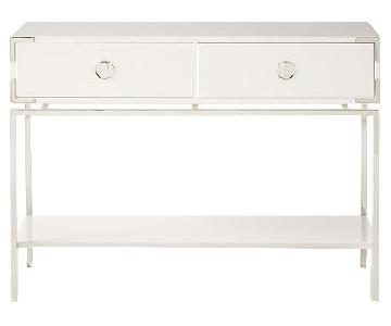 West Elm Malone Campaign Console Table