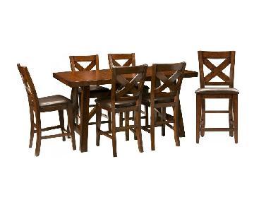 Raymour & Flanigan Royce 7-Piece Dining Set