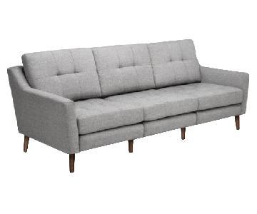Burrow Sofa in Crushed Gravel