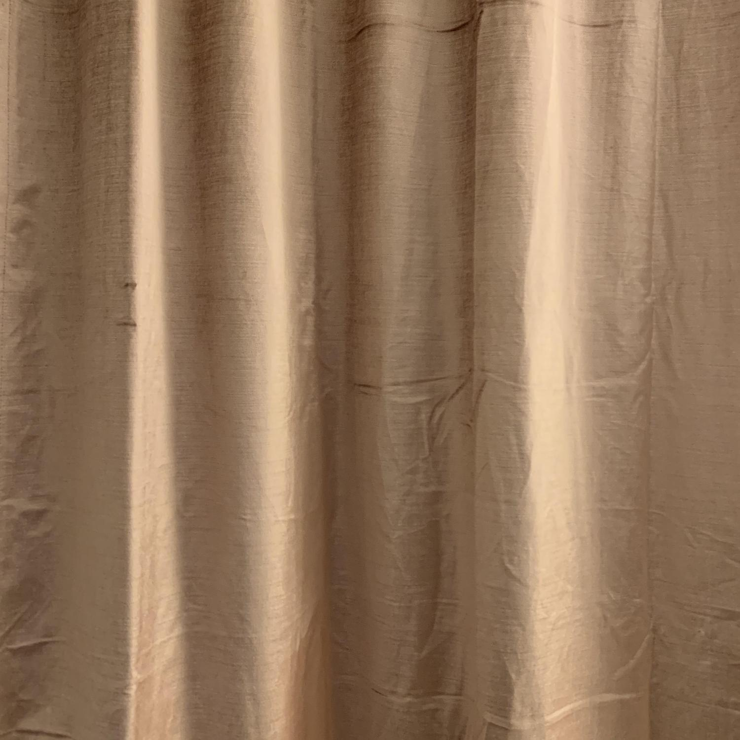 West Elm Cotton Luster Velvet Curtains in Dusty Blush-1