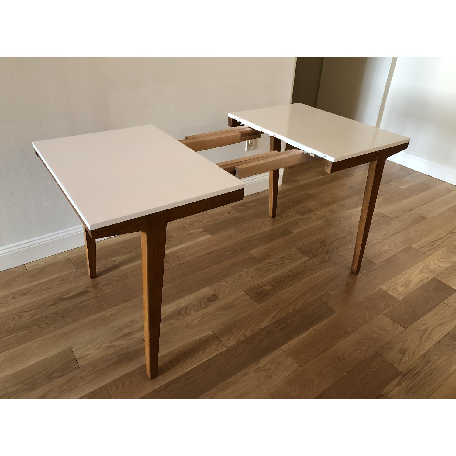 West Elm Modern Expandable Dining Table-0