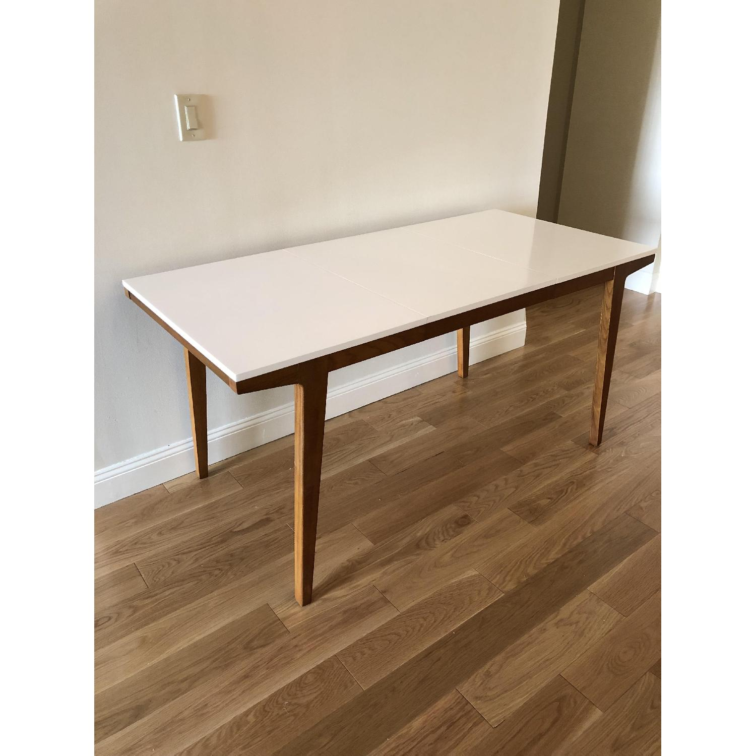 West Elm Modern Expandable Dining Table-1