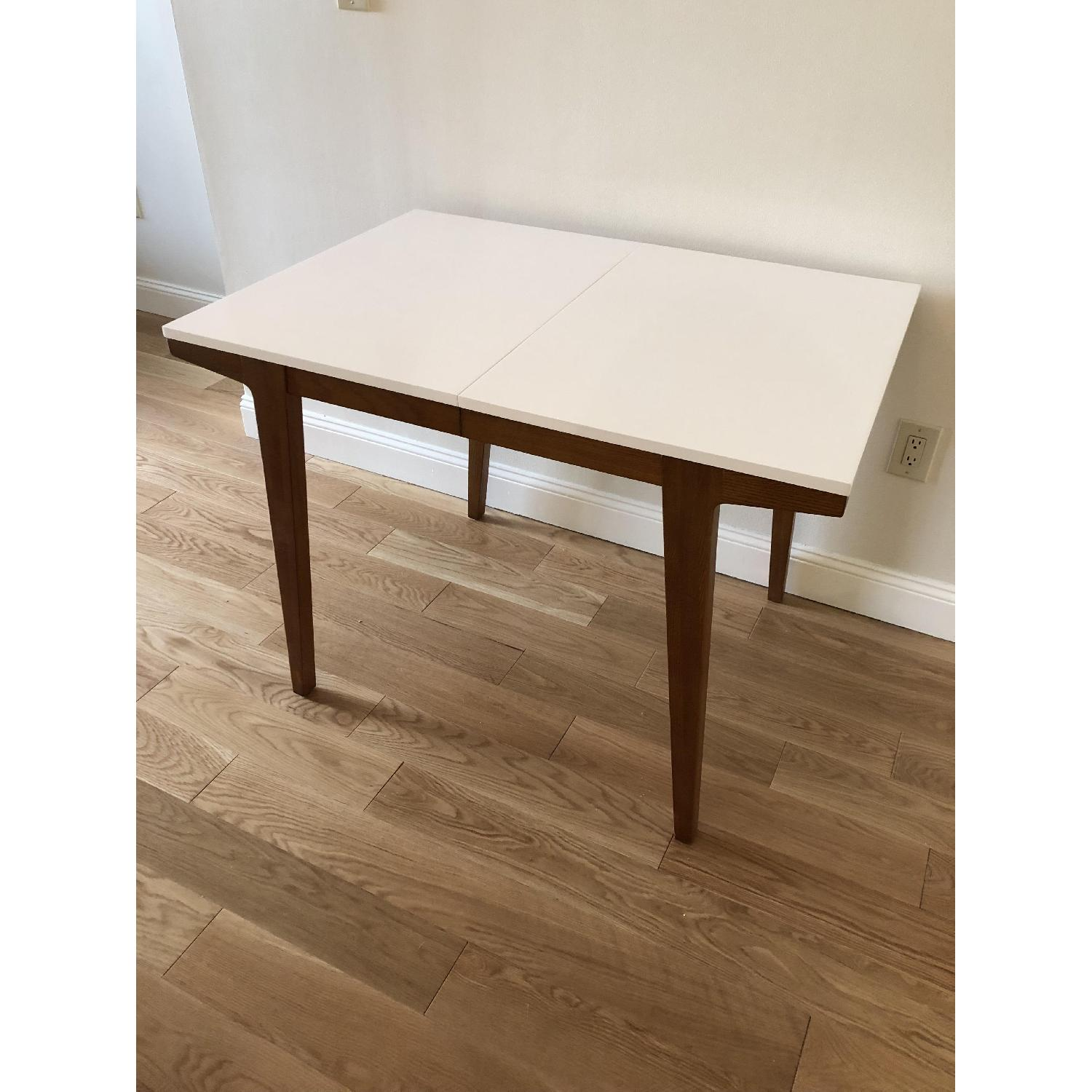 West Elm Modern Expandable Dining Table-2