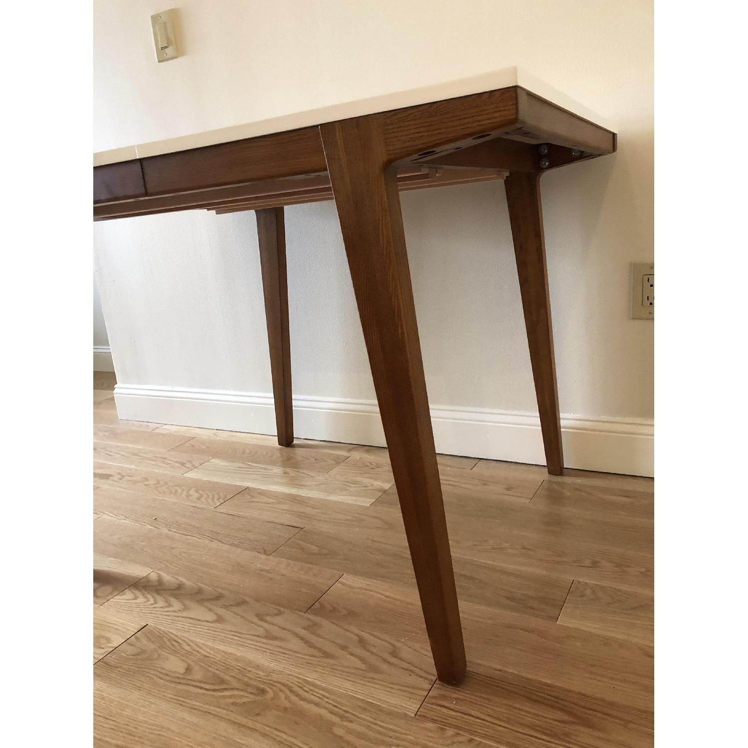 West Elm Modern Expandable Dining Table-3