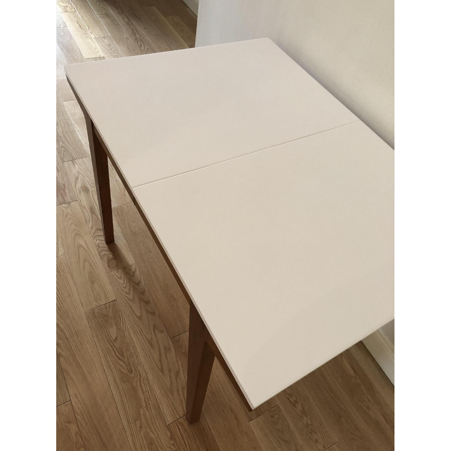 West Elm Modern Expandable Dining Table-4