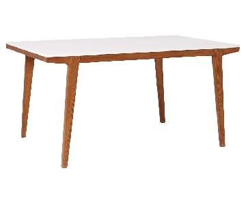 West Elm Modern Expandable Dining Table
