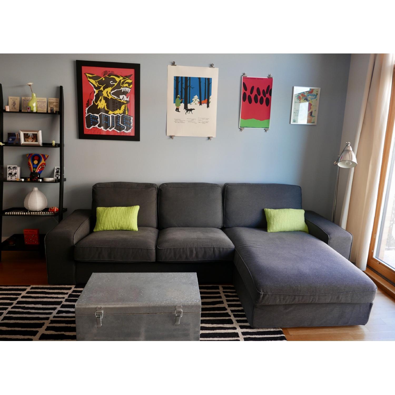 Ikea Kivik Sectional Sofa w/ Chaise-0