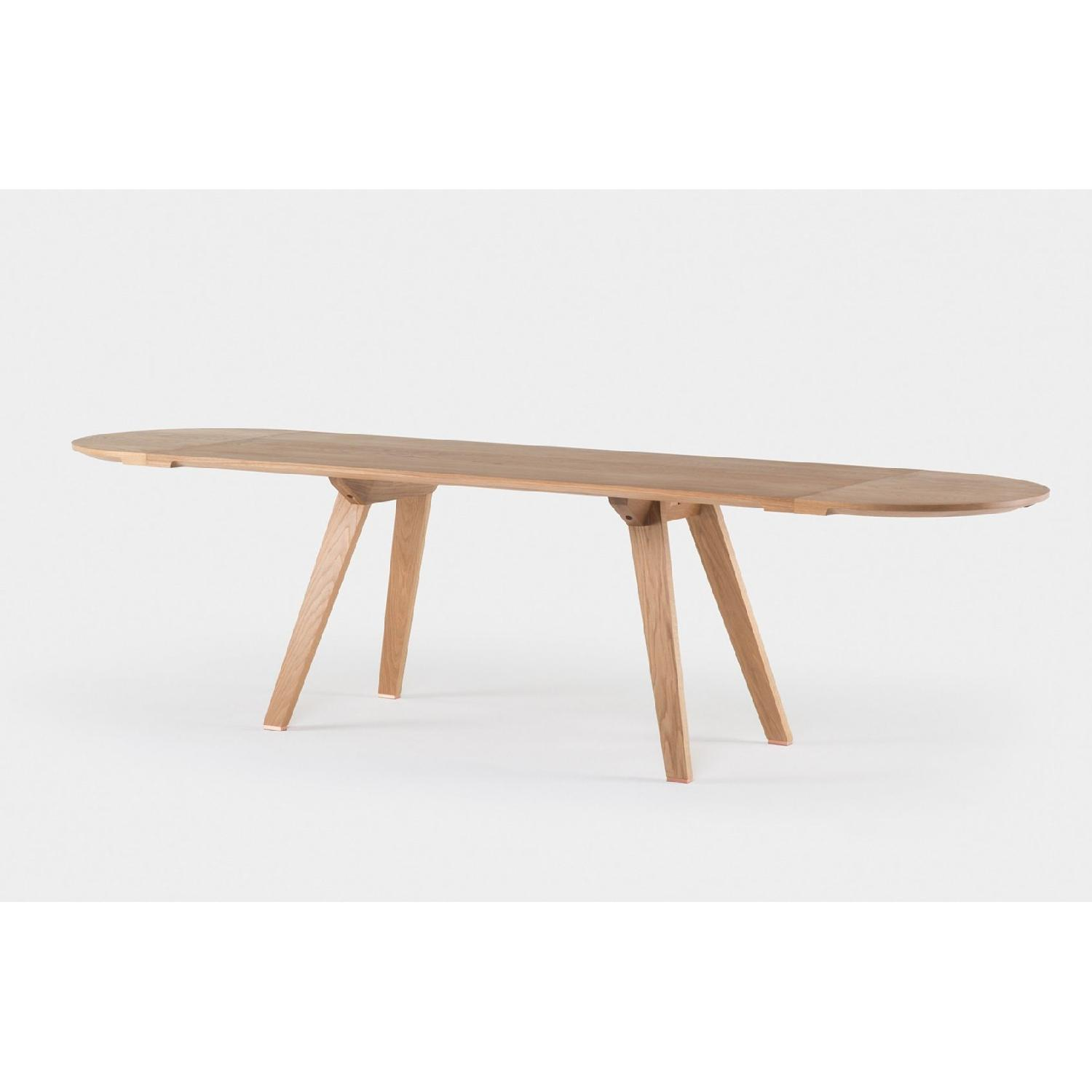 Studioilse Solid Walnut Dining Table w/ Padded Bench-3
