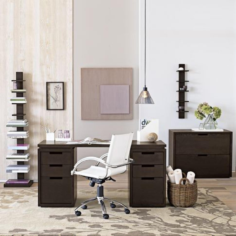 West Elm Modular Desk in Espresso-1