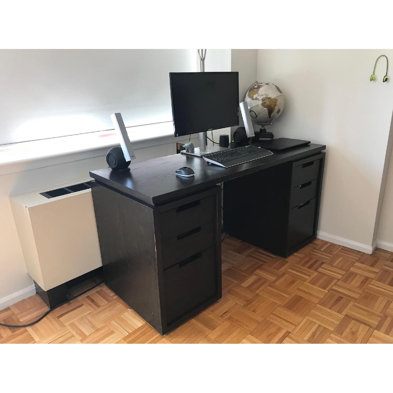 West Elm Modular Desk in Espresso-4