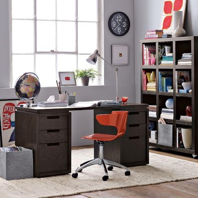 West Elm Modular Desk in Espresso-5