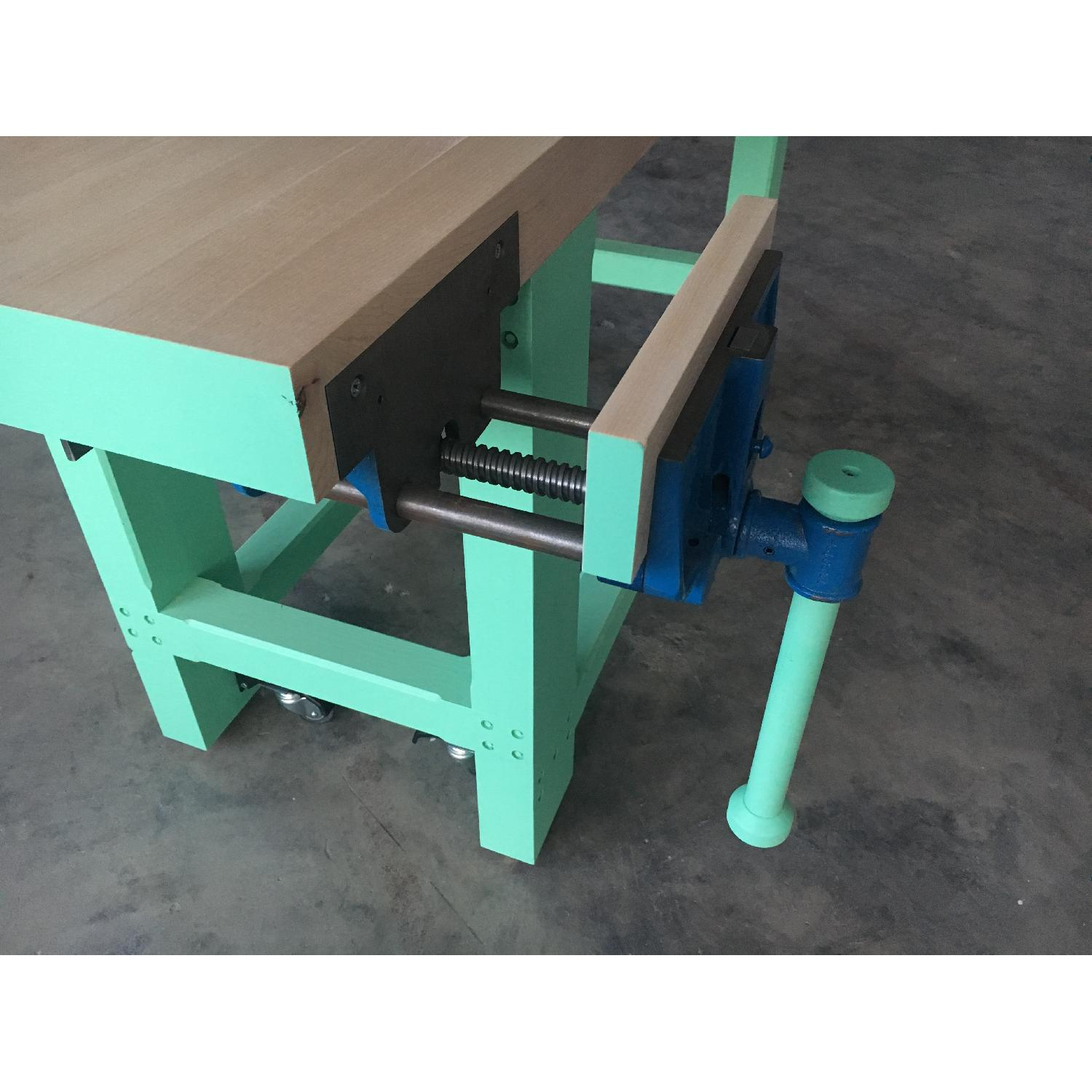 Solid Hard Maple Work Bench-3