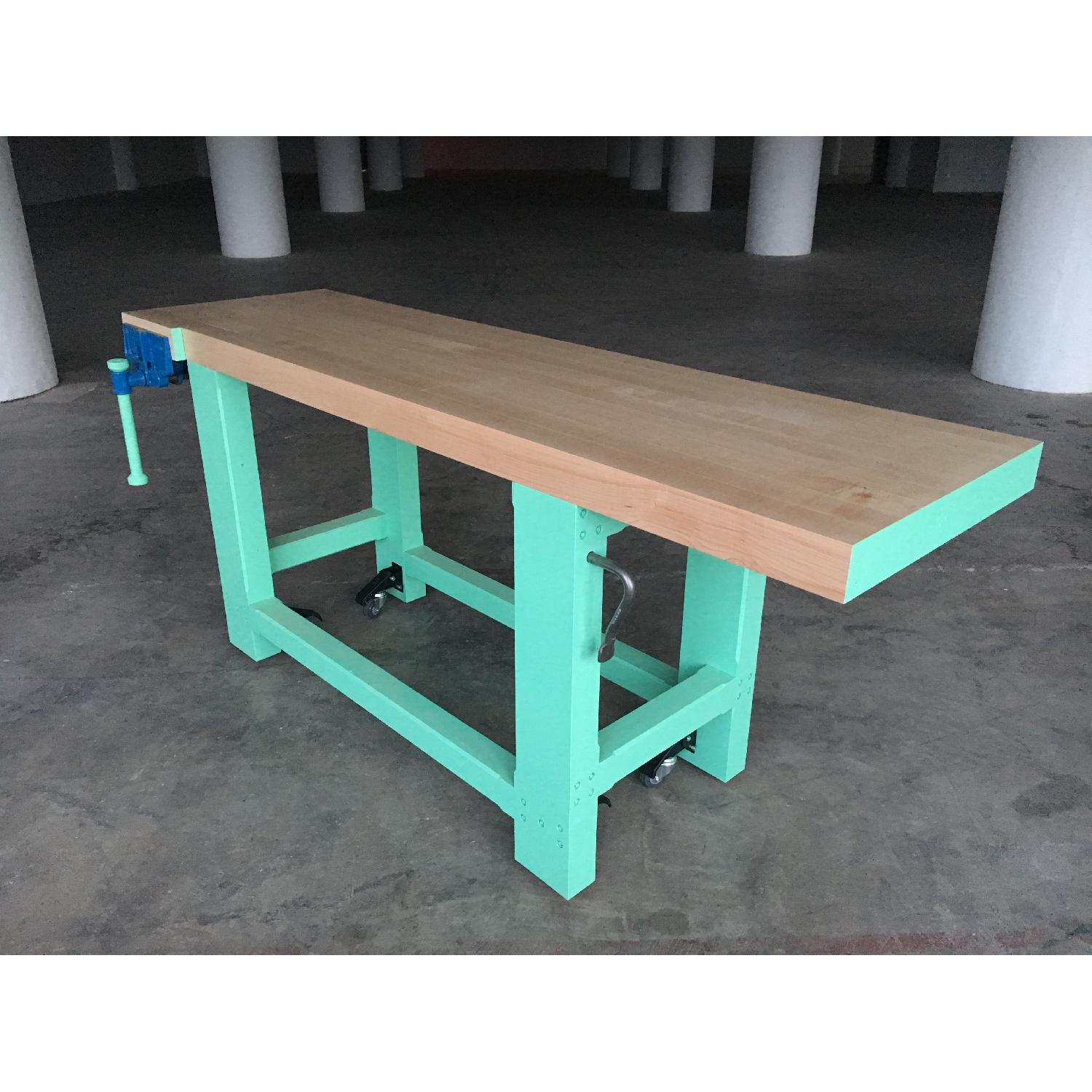 Solid Hard Maple Work Bench-4